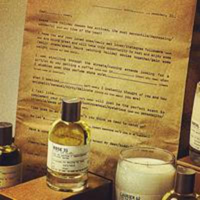 You can personalize the label of your Le Labo scent when you order online at lelabofragrances.com #CovetMe #covetme