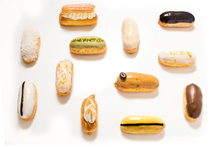 MINI ÉCLAIRS - mini ecleruri #frenchrevolutioneclairs