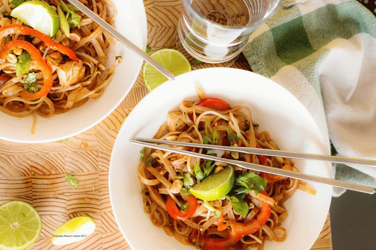 Sweet, sour, savoury and a little spicy. What's not to love about Pad Thai?  This meal cooks up fast, and while it makes a great friday night dinner perfect for pairing with a glass of wine o…