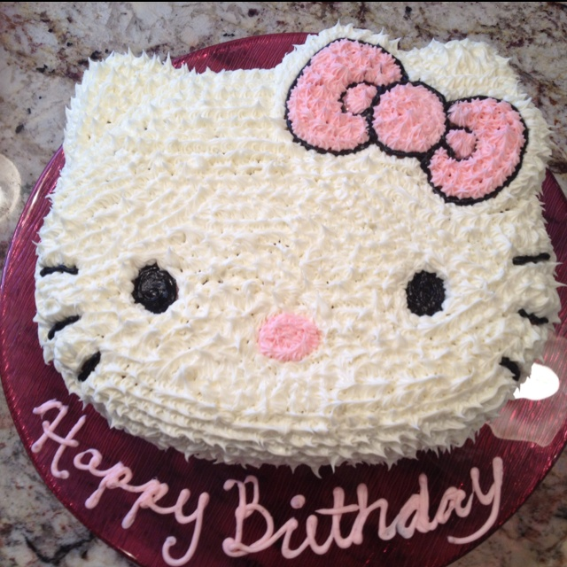 Birthday Cake Kitty Design Dmost for