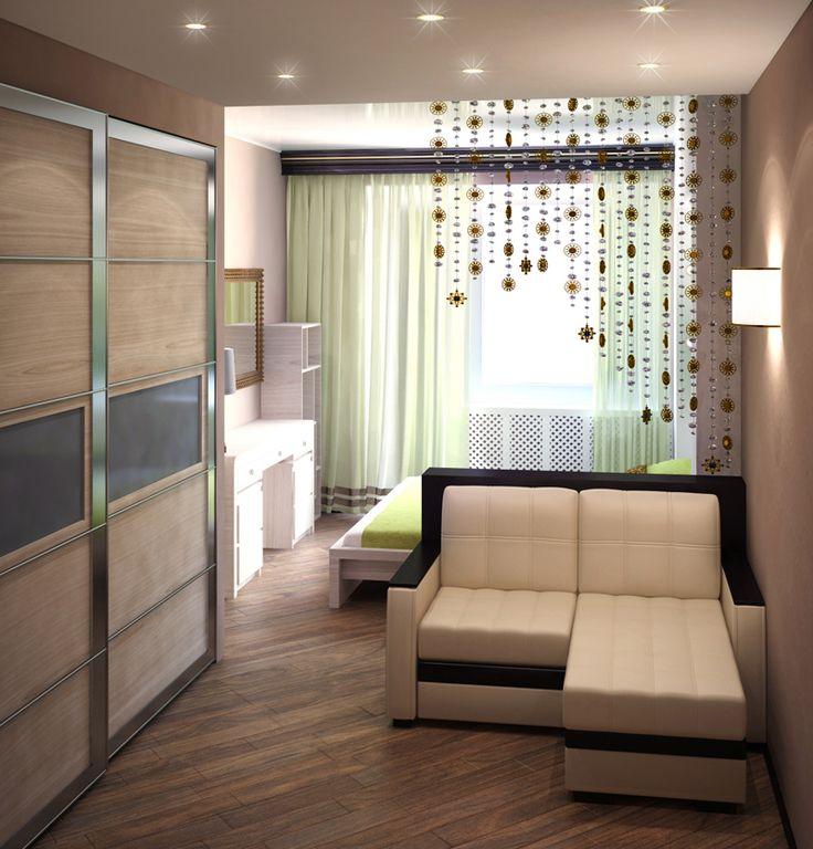 Статья 3. Гостиная и спальня в одной комнате. Статьи о дизайне интерьера.