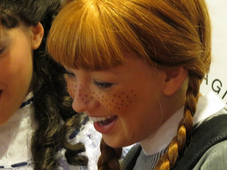 Katie Kerr IS Anne Shirley who IS making everyone happier