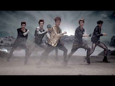 EXO-M-MAMA MV (Chinese ver.) // hahahahahahahahahahahahahahahaI haven't witnessed many K-pop group debuts but comes across as....... overwrought. Oh well, the song is super catchy and I keep comparing their dancing with EXO-K heh~