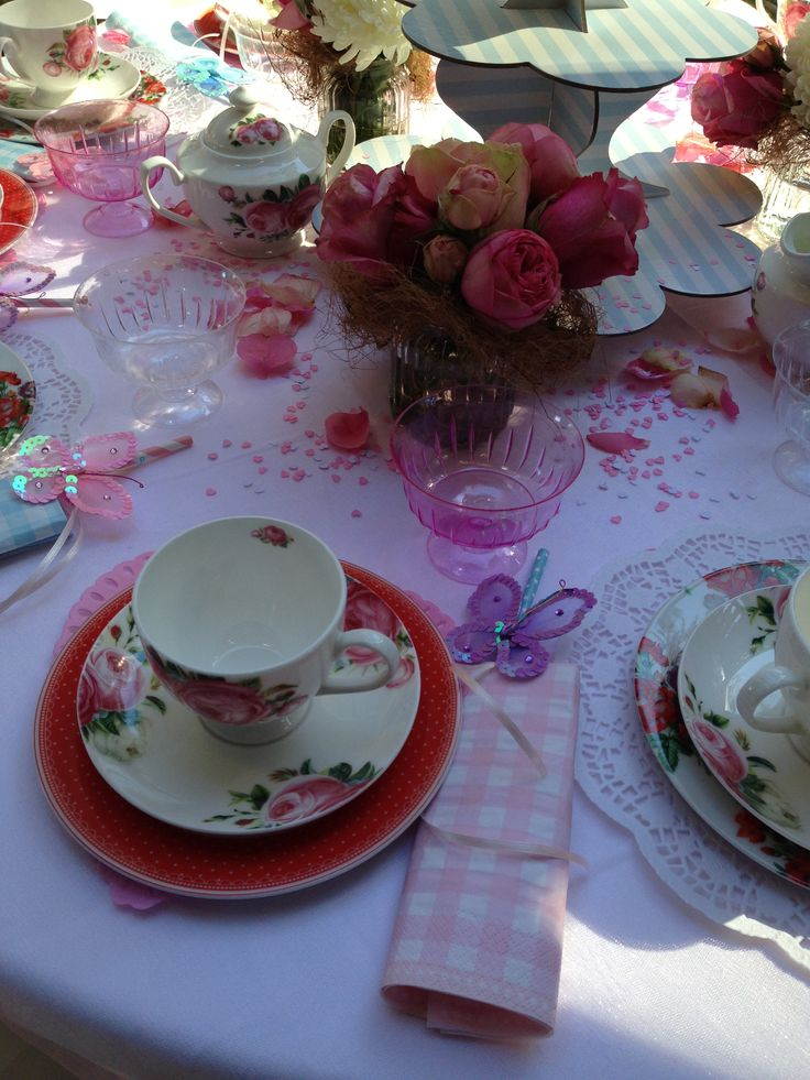 Little girls High Tea party at chowder bay barracks 2013