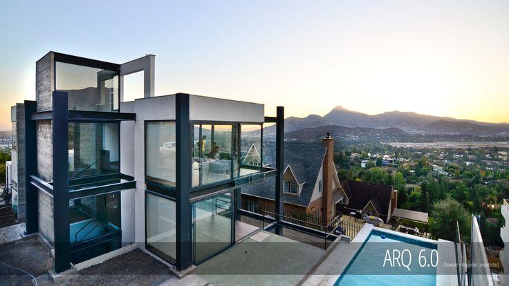 Casa Soprano Proyecto: Casa Unifamiliar Superficie construida: 360m2 Ubicación: La Dehesa, R.M. Chile Fecha: 2014 Sistema Constructivo: Acero y Hormigón