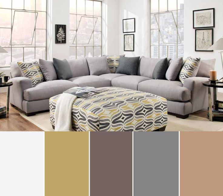 Some Tuesday Home Inspiration With This Cool Neutral Color Scheme Based On The DePalma Sectional