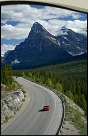"""The Icefields Parkway, from Jasper to Banff. The """"Most Beautiful Drive in the World"""""""