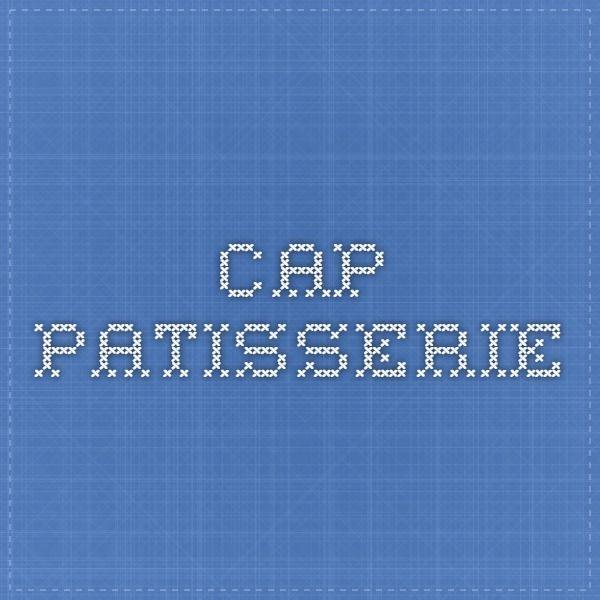 CAP patisserie