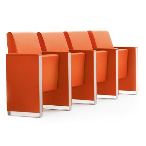 #Armchair for conference halls, auditoriums, cinemas, theatres and teaching classrooms. #Design by Baldanzi & Novelli