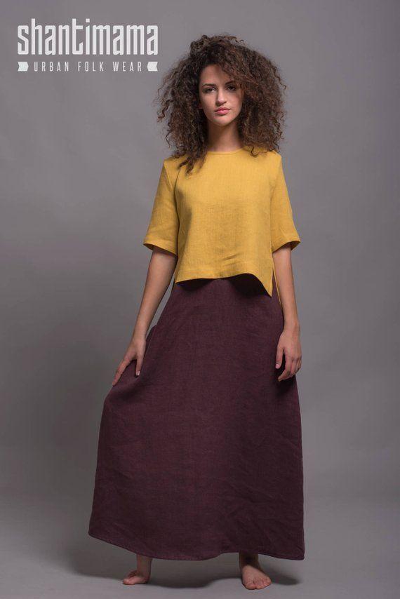 7c8089d48d8 Sleeveless Maxi Dress OLA Underdress Linen Day