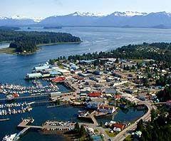 "Petersburg, AK.  Alaska's ""Little Norway"".  Inside Passage."