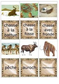 Mémory de la préhistoire