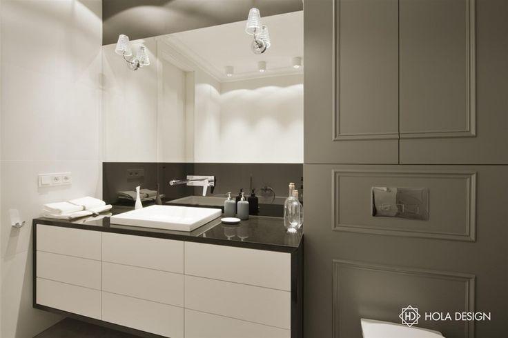 Aranżacja łazienki łączącej nowoczesność i klasykę