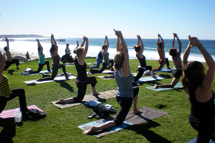 In San Diego, there's at least one free yoga class happening every day of the week.