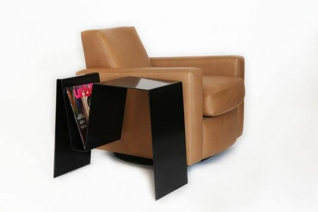 Folded side table