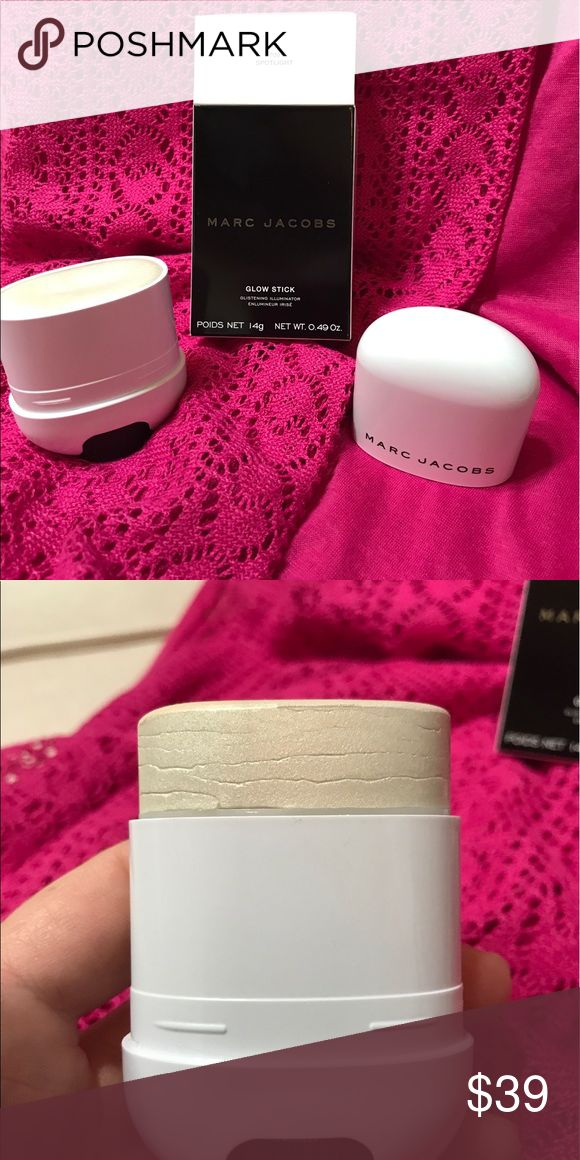 Marc Jacobs Glow Stick So have you ever bought something thinking it was great only to get it and realize you have tried it before and it just wasn't for you?  I purchased this online. As soon as I opened the box, I realized I have tried this and it isn't for me. Never used!  Brand new!  Help me recover some of my money. Sells brand new for over $40. Marc Jacobs Makeup Luminizer