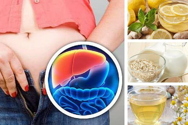 Estas 5 bebidas nocturnas contribuyen a desintoxicar el hígado para mejorar el metabolismo y perder peso. ¡Descúbrelas!
