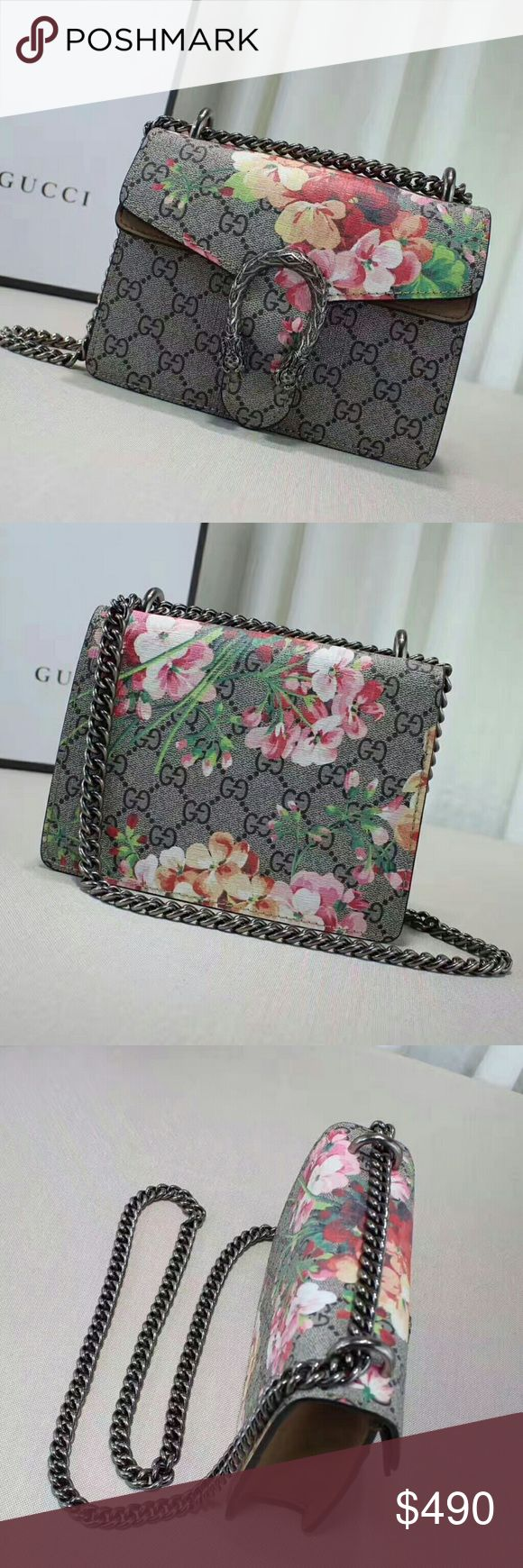 Gucci Dionysus Floral Shoulder Bag If you would like to purchase this item or learn more about our product listings, please direct message us on Instagram:   @laluxlounge @laluxlounge @laluxlounge  Check out our customer reviews to ensure that your purchase will be worthwhile!  Product packaging and shipping times vary per item Gucci Bags Shoulder Bags