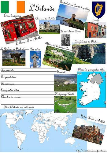 Irlande et Algérie