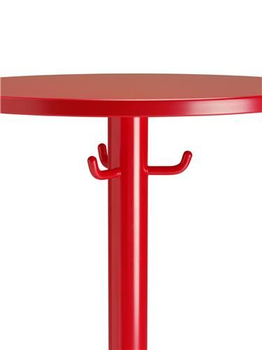 Mitab Montmartre bar height table with integral hooks