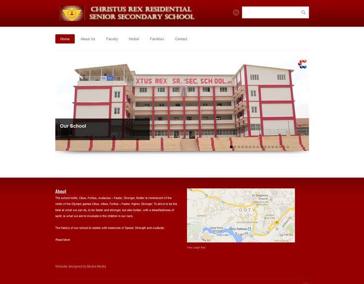 REX School -Website Development