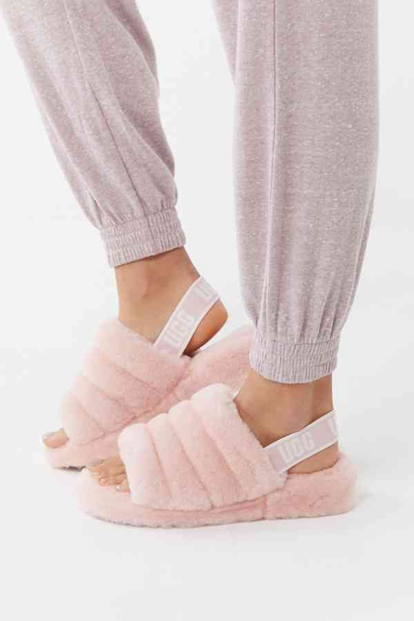 UGG Fluff Yeah Slide Slipper | Pink ugg