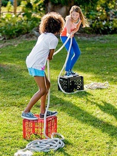 Dulce Fiesta Decoración: Juegos al aire libre