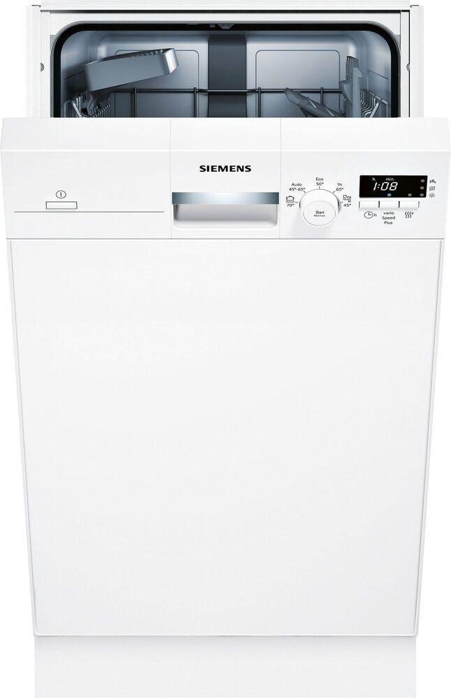 EBay #Sponsored SIEMENS SR315W03CE IQ100 Unterbaugerät SpeedMatic 45  Geschirrspüler / Weiß / 45; EEK A