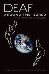 """""""Deaf around the World: the Impact of Language"""" by Oxford Press. Identifying the number of Sign Languages around the world, their impact on one another, and how each language spreads which is """"deeply linked to political, cultural, and social factors..."""" like who has contact with whom thus exchanging signs."""