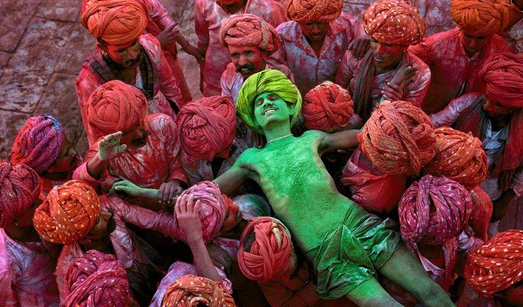 Olive Ô Saumon: Holi, la fête des couleurs en Inde pour célébrer la fin de l'hiver, et le début du printemps !