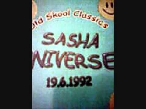 dj sasha@universe 1992