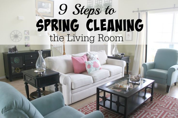 Cleaning Living Room Image Review