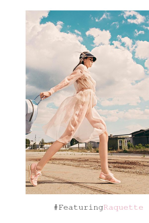 Easy going look created by this Raquette Rose Quartz Organdy Trench #maisonraquette #dress