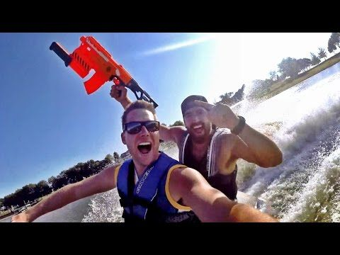 Nerf Blasters Edition | Dude Perfect - YouTube