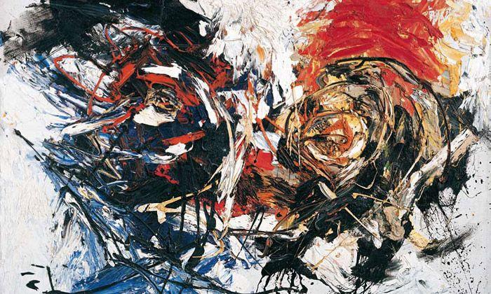 Face in a Landscape, 1961, Karel Appel. Dutch (1921 - 2006)