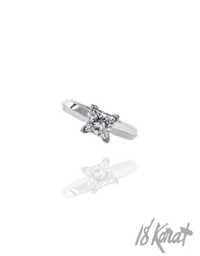 Meghan's Engagement Ring - II | 18Karat