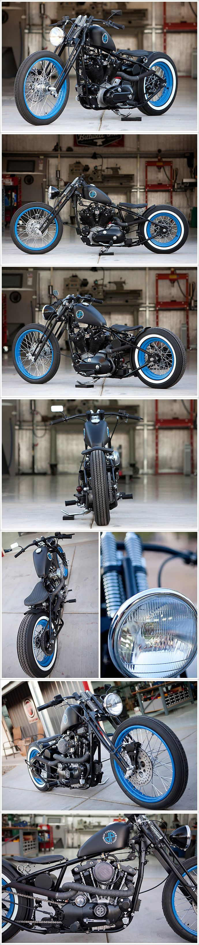 DP Customs - 'Seventy Three' Harley Ironhead.  I'm IN LOVE!!!  I would love mine to be pink, instead.