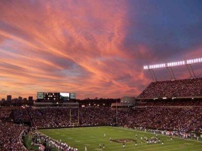 Williams Brice Stadium, Columbia, SC  Temple of the South Carolina Gamecocks.