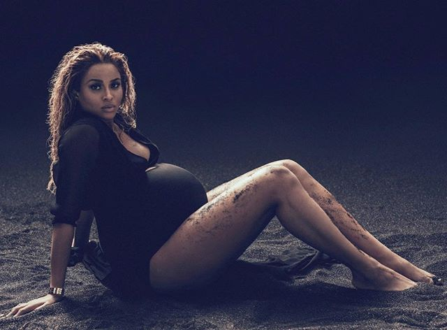 My absolute favorite pregnancy shoot of Ciara pregnant with Future Zahir . #Ciara #CiaraWilson #BabyFuture #PregnancyShoot #TB #RussellWilson #TheWilsons #Csquad