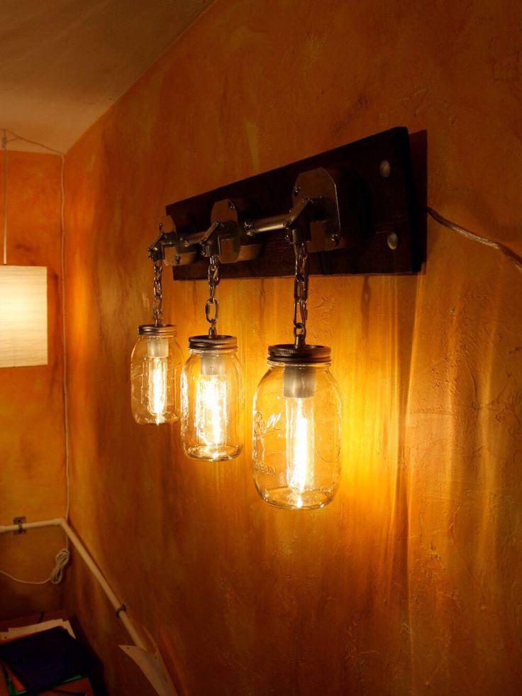 Best 25+ Rustic Vanity Lights Ideas Only On Pinterest