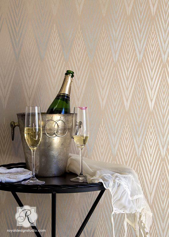 Best 25 art deco wallpaper ideas on pinterest art deco for Diy art deco furniture