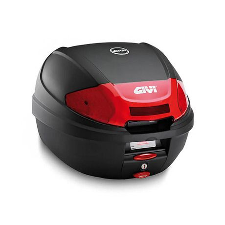 Μπαγκαζιέρα μηχανής E300NT2 με σύστημα κλειδώματος Μonolock από την GIVI. Διαθέτει κόκκινα ανακλαστικά στα πλάγια και χωρητικότητα 30 λίτρα (περίπου ένα full face κράνος). Συνοδεύεται με την βάση στήριξης. Διαστάσεις 30x40x41 εκ. Μέγιστο...