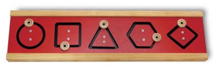 Prewriting Skill Development  Motor Shapes Sequence Board | TAG Toys