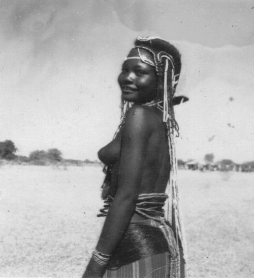 Angola Vintage Photo Of Mucubal Women And Girls C 1930s 1950s Photographer