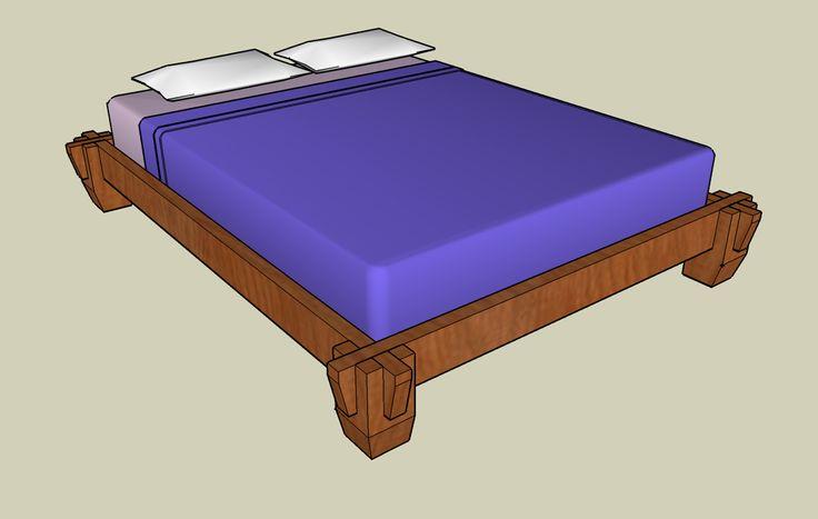 14 best woodworking platform bed images on pinterest woodworking woodworking plans and bed - Japanese platform bed frames ...