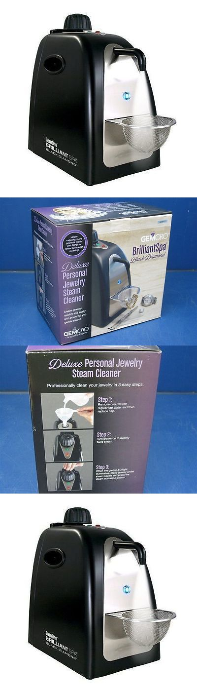 Jewelry Cleaners and Polish 67720: Brilliantspa® Black Diamond Gemoro Jewelry Steam Cleaner From Authorized Dealer -> BUY IT NOW ONLY: $99.95 on eBay!