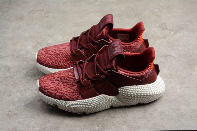 reputable site ed8be 01b30 Womens adidas Prophere Maroon Trace Maroon White B37635-1