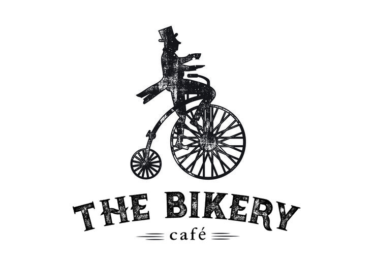 Logo Design for The Bikery Cafe and Catering in Cambridge. Created by Imagine If Creative Studio's Alysha Johnson