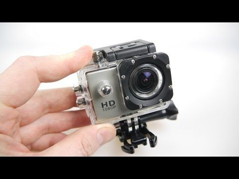 Full Review Sports HD 1080P DV Water Resistant Action Camera - YouTube