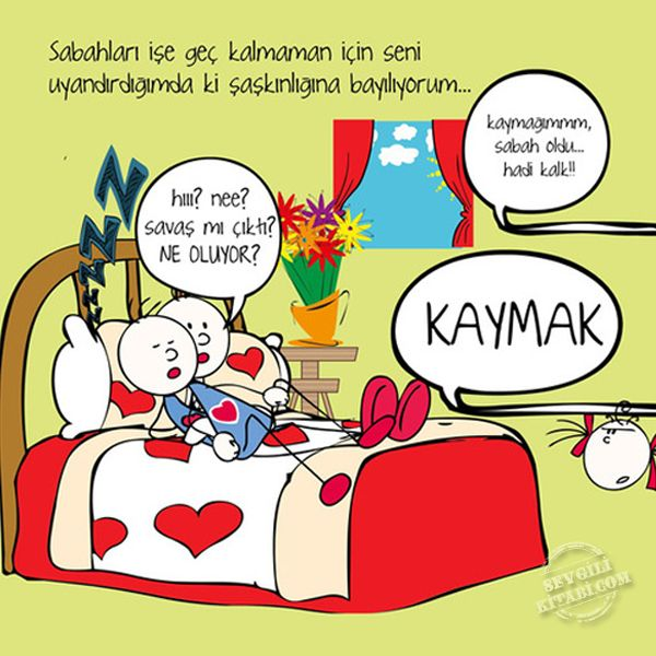 Bal ve Kaymağın aşkı başkadır :) Aşk bu. Unutulmaz hediye kitap